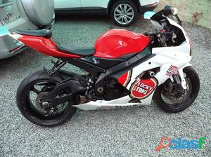 Suzuki GSX-R 1000 GP srad 2006 / 2006 Vermelho Gasolina