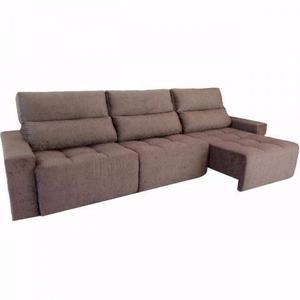Estofado retratil curitiba posot class for Sofa 6 lugares reclinavel e assento retratil roma suede amassado marrom orb