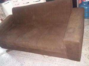 Trio, sofá, pufe 3 lugares e cadeira de balanço