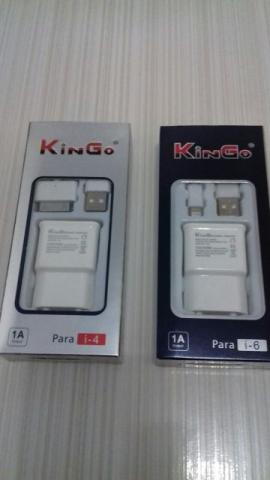 Carregador Original Kingo P/ Iphones 4g, 4s,5g, 5s, 5c, 6s,