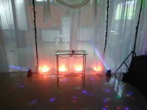 """Festas eventos fazemos locações de som e luzes e dj""""."""