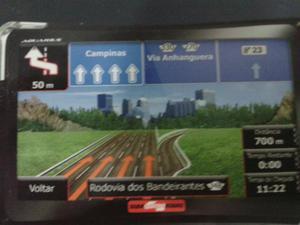 GPS automotivo quatro rodas, zero na caixa, com tdos os
