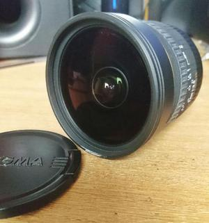 Lente Sigma 8mm F3.5 Ex Dg Para Canon