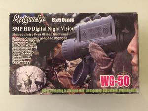 Monóculo E Filmadora De Visão Noturna Wg-50 5mp Hd
