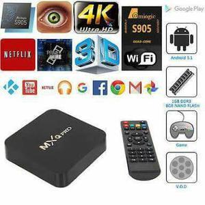 Mqx box transforme sua TV em smart TV