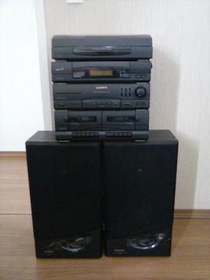 Radio Gradiente 3 em 1 - Toca Fitas - Am / Fm - Toca Disco