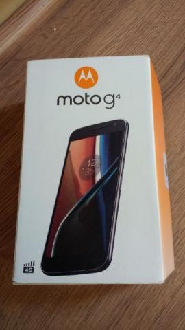 Smartphone Moto G4 XT Preto com 16GB, Tela de 5.5'', TV