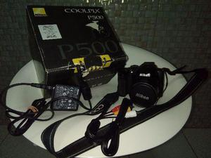 Camera e filmadora Nikon Coolpix P500