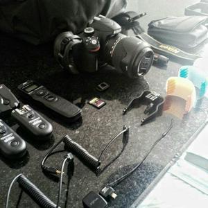 Nikon D e periféricos