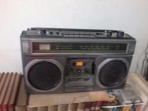 Radio gravador sanyo