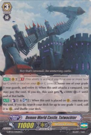 Cardfight Vanguard Demon World Castle, Totwachter - Common
