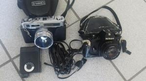 Câmeras fotográficas colecionador
