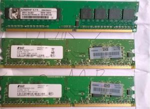 Pentes de Memória DDR2 de 2GB