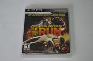 Jogo Need for Speed: The Run Playstation 3 Ps3 Seminovo
