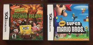 Nintendo DS com New Super Mario Bros