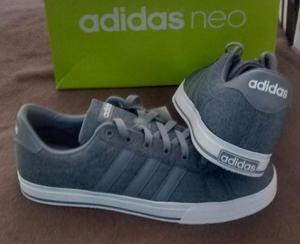 Tênis adidas neo daily cinza tam (original novo 71f65fda1f853