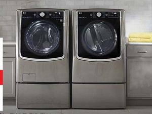máquina de lavar, secadora e lava e seca lg em conserto sé