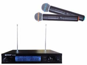 2 Microfone Sem Fio Profissional sem fio Receptor P/Igreja