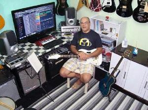 Aula de música na ilha do governador