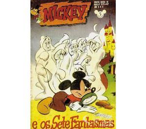 COMPRO GIBIS DO MICKEY ANOS 50, PAGO R$50 CADA.