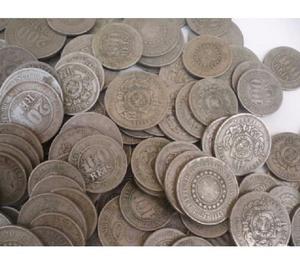 COMPRO MOEDAS ANTIGAS DE QUALQUER TIPOS- PAGO R$30 O Kg