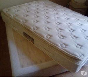 Cama box com colchão