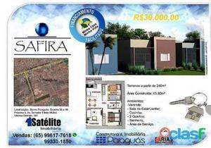 Casa - Na Planta - Varzea Grande - MT - Residencial Paiaguas