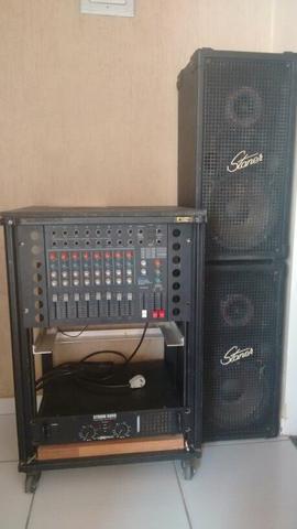 Mesa de som completa semi profissional