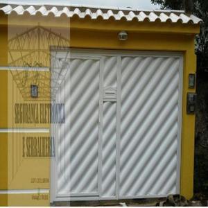 Portão Alumino Búzios Branco