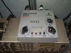 Pré amplificador valvulado