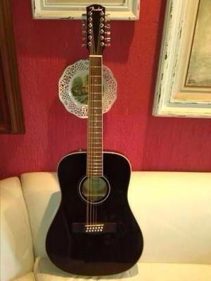 Violão 12C Folk Fender CD 160 SE zerado