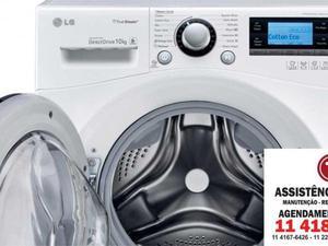 manutenção técnica máquina de lavar roupas lg
