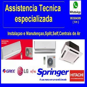 Assistencia Tecnica e Instalaçao de Ar Condicionado