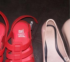Kit 2 sandálias Melissa Mel