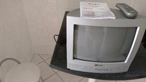 Televisão de tubo de 14 polegadas
