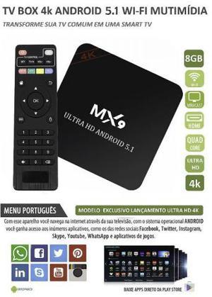 Transforme sua TV em uma Smart Tv, com acesso ao principais