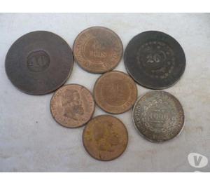 VENDO 3 KG DE MOEDAS ANTERIORES A 1900. COMPRO TAMBÉM