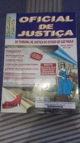 Apostilas Concurso Publico para Oficial de Justiça + CDs