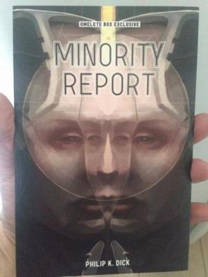 Conto Do Livro Minority Report - Omelete Box