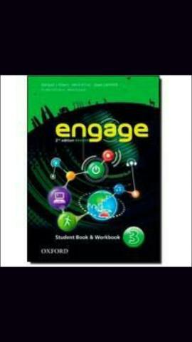 Engage3 livro de inglês - estudante