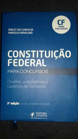 Excelente livro para concurso DIREITO constitucional