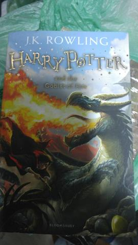 Harry potter and the goblet of fire de j.k rowling
