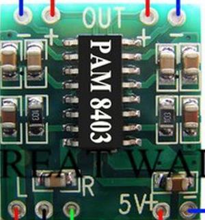 Kit Amplificador de 3 watts. Novo