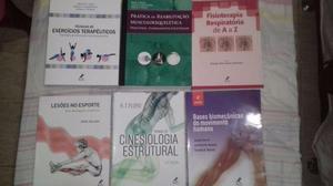 Kit Livros Fisioterapia Novos Nunca usados