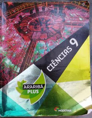 Livro Ciências 9 ano - Araribá Plus - Edição