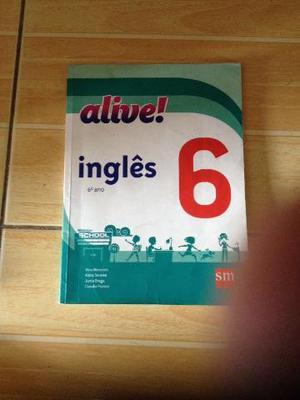 Livro de inglês Alive 6 ano
