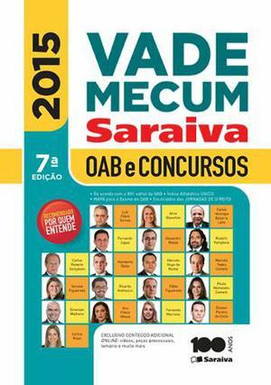 Vade Mecum Saraiva - OAB e Concursos - 7° edição -  -