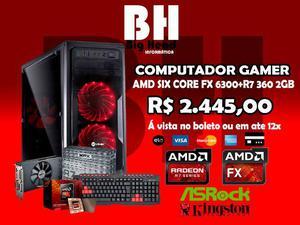 Big Pc Gamer Amd Fx+RGb