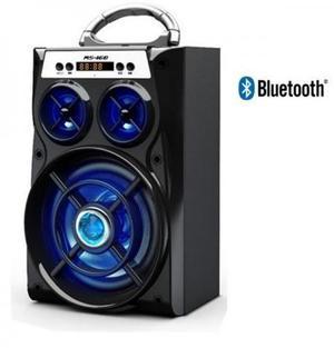 Caixa Som Amplificada Bluetooth Mp3 Usb Cartão Sd Pendrive