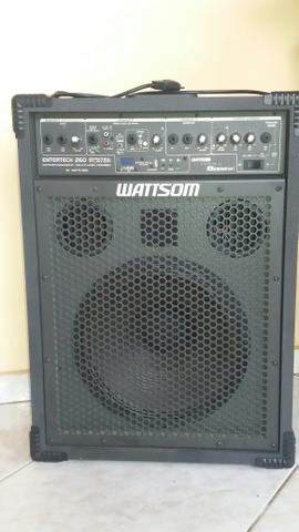 Caixa de som amplificada watson. oferta imperdível